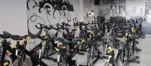 Spinning en el gimnasio energy de Albacete.