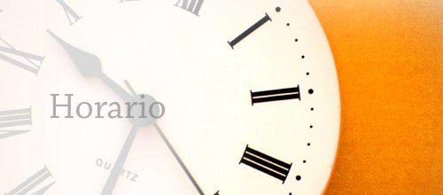 Horarios y Precios a partir del 16 de Septiembre de 2013