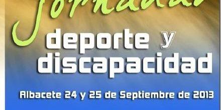 Jornadas de la discapacidad en Albacete días 24 y 25 de Septiembre ¡Apúntate!