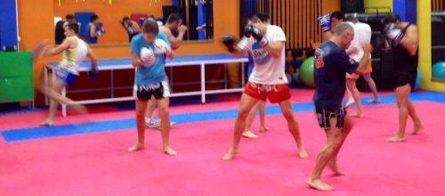 Nueva clase de Muay thai