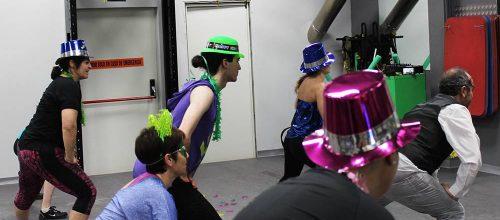 Video de las campanadas de fin de año en BaileActivo