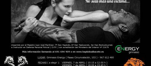 Curso Defensa personal femenina en Abril