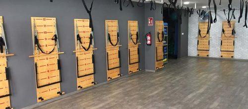 Nuevo Pilates con tablas Spring Board en Gimnasio Energy