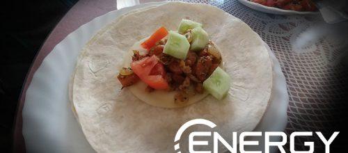 Recetas de nuestra nutricionista: Fajitas Vegetales