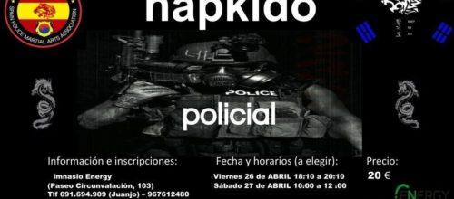 Apúntate ya a nuestro evento de Hapkido policial